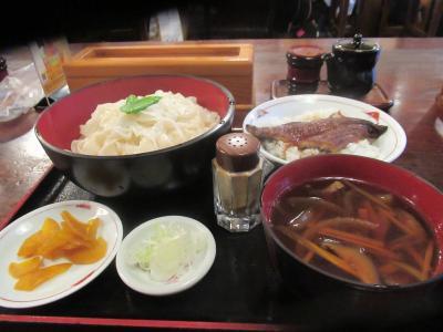 夏旅2019甲府・静岡(5)名物「ほうとう」を冷やして食べる「おざら」と甲府駅前ホテル