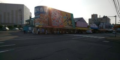 札幌魚市場と札幌ドームとグルメ