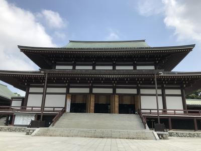 真夏に成田空港ついでに成田山新勝寺は行くものではない、行くなら命がけです