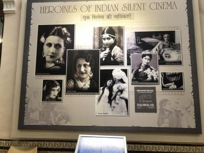 GWインド一人旅⑤(完) 乗るはずの飛行機がなかったが、めげずにインド映画博物館へ