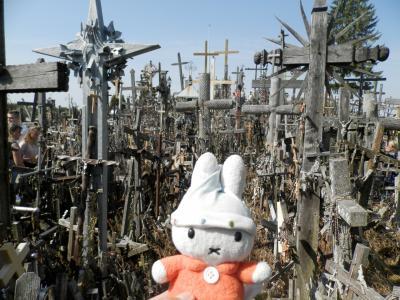 グーちゃん、リトアニアへ行く!(シャウレイ/十字架の丘でアーメン!編)