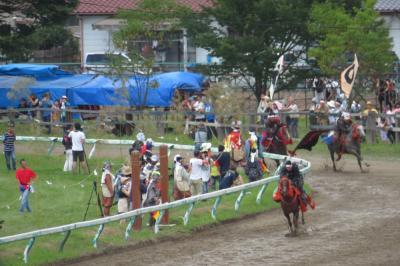 5年ぶりに、相馬野馬追祭へ行ってきました。!(^^)!