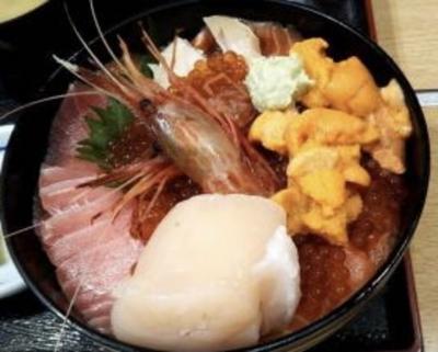 ひさびさの北海道海鮮丼を食べて稚内へ漢2人旅 3