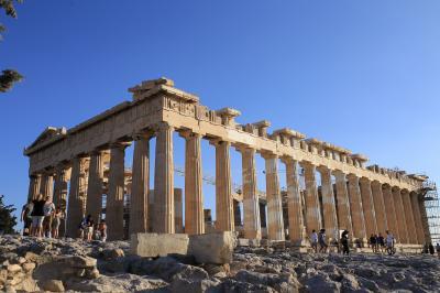 【個人旅行】サントリーニ島•アテネ 6泊8日