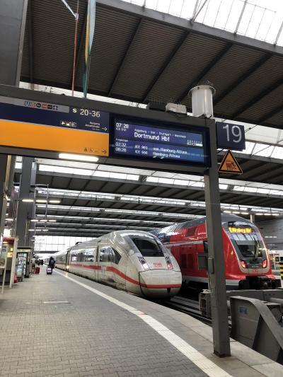 2019年4月ヨーロッパ&香港トランジット14日間 –ドイツ鉄道ICEとフランクフルト空港ラウンジ編