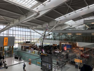 2019年4月ヨーロッパ&香港トランジット14日間 –ロンドン空港ラウンジ・BAプレエコ搭乗編