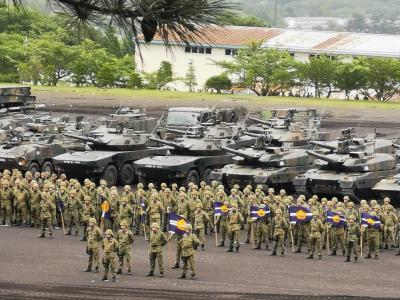陸上自衛隊富士学校・富士駐屯地開設65周年記念行事に行ってきた