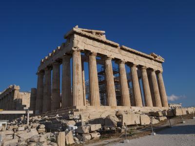 初めてのギリシャ2度目のイタリア アテネ・ローマ遺跡を歩む一人旅 4日目 アクロポリス編