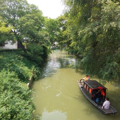 水郷の町、蘇州その①上海~蘇州の道のり 虎丘
