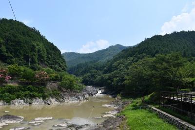 篠山川の渓谷