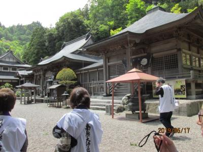 四国霊場・徳島編(34)第十二番焼山寺に参詣。