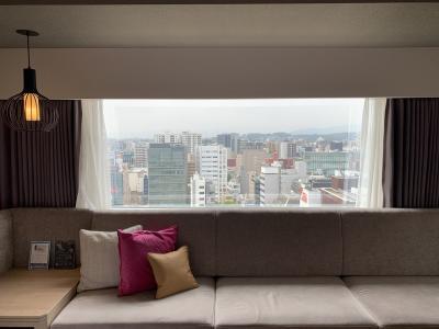 ソラリア西鉄ホテル福岡に泊まってみました。