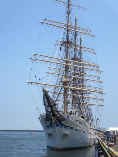 開港120周年記念 四日市港まつり 帆船「海王丸」一般公開に行きました。