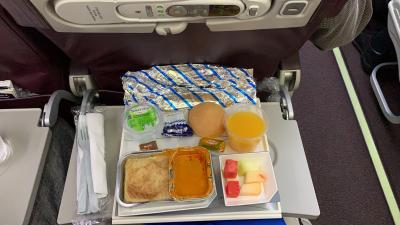 マレーシア航空  クアラルンプール•バンコク旅行④エコノミークラス