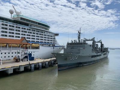 シンガポール発アジアクルーズ (ボイジャー・オブ・ザ・シーズ) (2) 船内が観光地