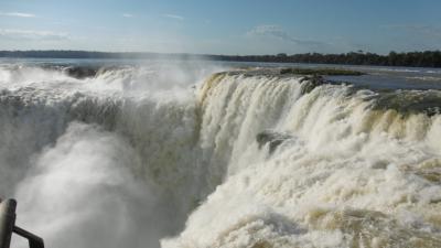 南米旅行 7-8日目 イグアスの滝(アルゼンチン側)