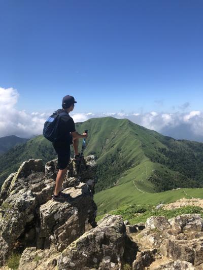 剣山登山、いやしの温泉郷に泊まって三嶺山も