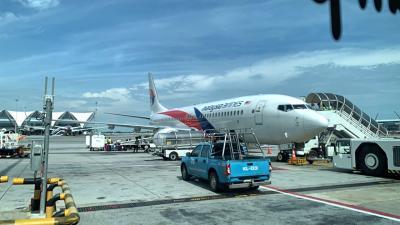 マレーシア航空  バンコク旅行⑧ビジネスクラスBKK→KUL