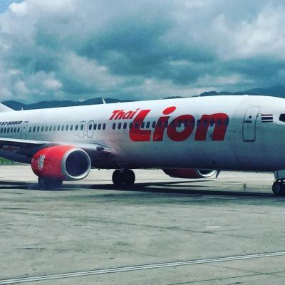 タイ ・ ライオン ・ エア  に  Sting  が、 初めて  乗った時   ~ 2019