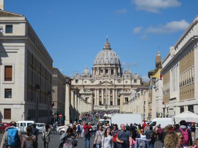 2019GW・ローマ&フィレンツェ(4:バチカン美術館とサンピエトロ寺院)