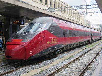 2019GW・ローマ&フィレンツェ(5:高速列車ITALOでフィレンツェへ)