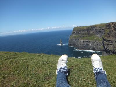 みのりん♪のアイルランド旅行記 小5娘が撮影したアイルランドと親子コラボ旅行記 父、望外の喜びに浸るの巻(笑)