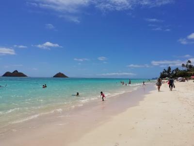 女子旅*ハワイpart3 3日目 ラニカイビーチ
