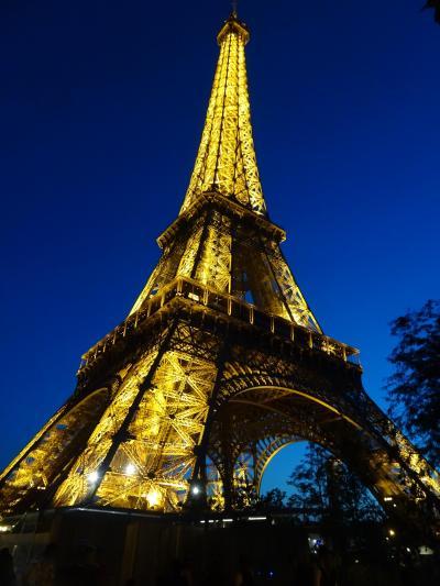 フランス アルザス、ブルゴーニュ地方のワインツアーとパリ (6)  パリ 1