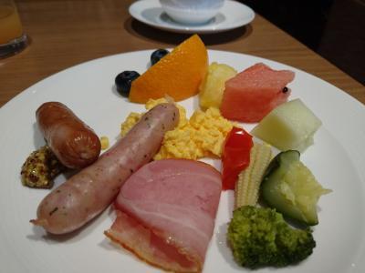 シェラトン都ホテル東京のクラブラウンジ体験④2回目の朝食