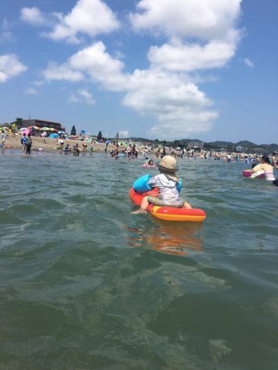 3歳1ヶ月子連れ 三浦海岸海水浴 1泊2日