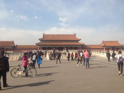 初めての中国、初めての北京(ほぼ)一人旅