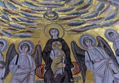 世界遺産の教会があるイストラ半島の港町ポレチュ