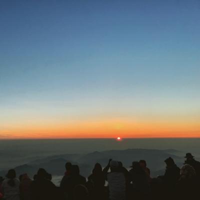富士登山へ!