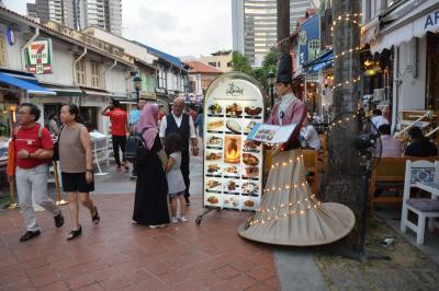 巡るSingapore 今回で何度目