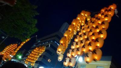 往復飛行機で行く東北二大祭り(06) 秋田竿灯祭り 下巻。