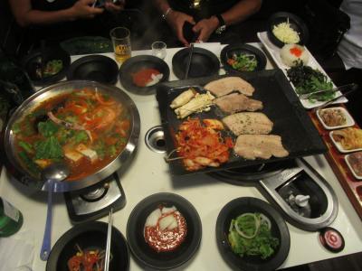 娘夫婦とソウル 食べ歩き//飲み歩きの買物ツアー