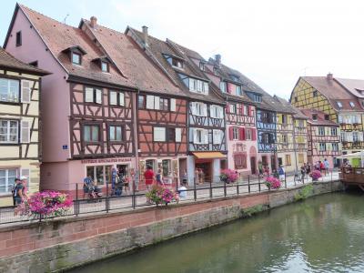 2019年7月 ドイツ&スイス&ちょっとフランス(3日目:コルマール日帰り観光)
