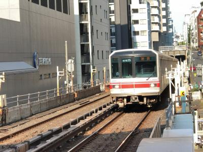 2019年8月地下に潜る東京鉄道旅行6(南北線・丸ノ内線・新宿線)