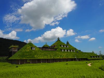 滋賀の賀茂神社、ラ コリーナ近江八幡そして佐川美術館