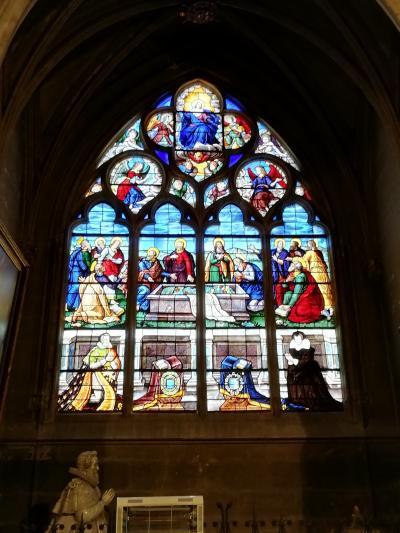 ブールジュ大聖堂♪切断された自分の首を持ちながら歩き続けたサン・ドニの物語2019年5月フランス ロワール地域他8泊10日(個人旅行)140