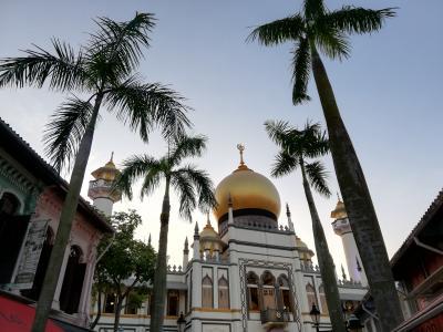 2019シンガポール女子旅⑦憧れのハイティ~サルタンモスク~リバークルーズへ