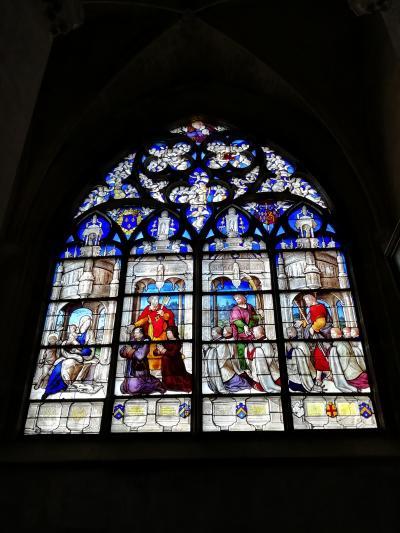 ブールジュ大聖堂♪翼廊は無く最大の中央身廊長さ118m幅41m高さ37m♪2019年5月フランス ロワール地域他8泊10日(個人旅行)141