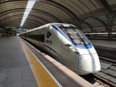 【のんびり寝ながら移動】昼間に走る寝台新幹線に乗車(上海⇒漢口)