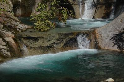 涼を求めて、奥秩父笛吹川西沢渓谷を歩きました。