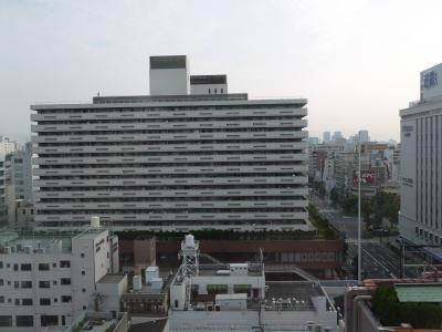 厳暑の大阪 お泊りはロイネット上本町です