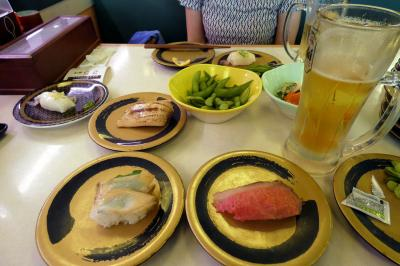 はま寿司 三島中央町店の夕食