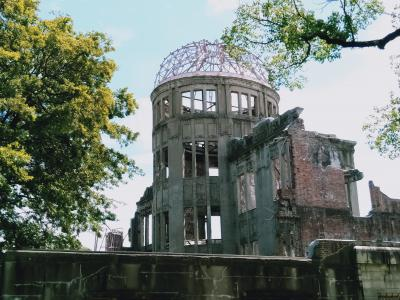 終戦記念日を前に広島に