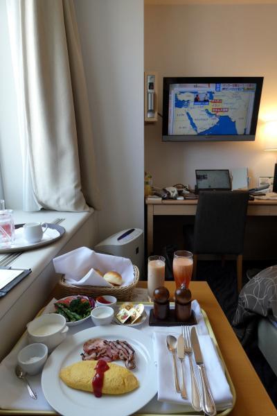 初夏の北海道4泊 札幌パークホテル ルームサービスのブランチ