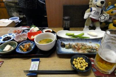 11.初夏の北海道4泊 独酌 三四郎(どくしゃく さんしろう)の夕食