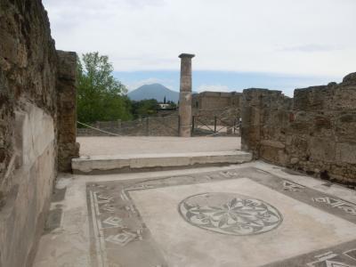 2019GW イタリア26:世界遺産ポンペイ遺跡1 ヴィーナスの神殿、フォロ、アポロ神殿